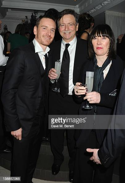 Michael Fassbender and his parents...