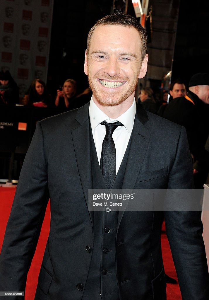 <a gi-track='captionPersonalityLinkClicked' href=/galleries/search?phrase=Michael+Fassbender&family=editorial&specificpeople=4157925 ng-click='$event.stopPropagation()'>Michael Fassbender</a> arrives at the Orange British Academy Film Awards 2012 at The Royal Opera House on February 12, 2012 in London, England.
