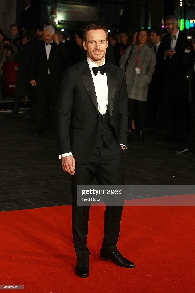 Michael Fassbender attend a screening of 'Steve Jobs' on the closing night of the BFI London Film Festival at Odeon Leicester Square on October 18...