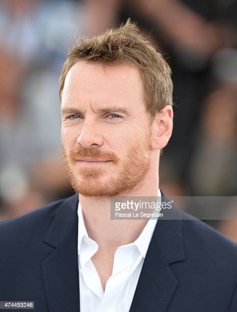 Michael Fassbender attend the 'Macbeth' Photocall during the 68th annual Cannes Film Festival on May 23 2015 in Cannes France