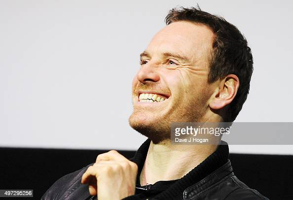 Michael Fassbender attends a 'Macbeth' special screening QA at Ham Yard Hotel on November 15 2015 in London England