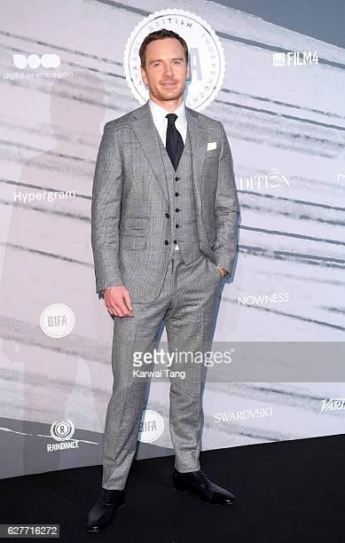 Michael Fassbender attends at The British Independent Film Awards at Old Billingsgate Market on December 4 2016 in London England