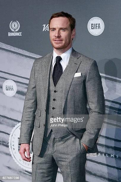 Michael Fassbender attends The British Independent Film Awards at Old Billingsgate Market on December 4 2016 in London England