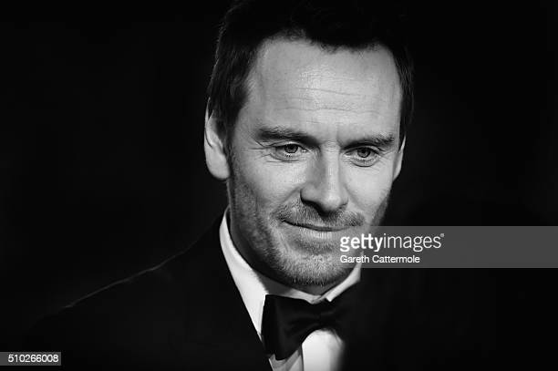 Michael Fassbender attends the EE British Academy Film Awards at the Royal Opera House on February 14 2016 in London England