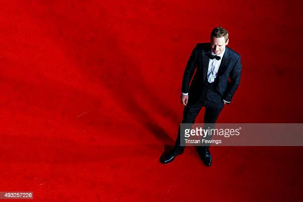 Michael Fassbender attends the gala premiere of 'Steve Jobs' on the closing night of the BFI London Film Festival at Odeon Leicester Square on...