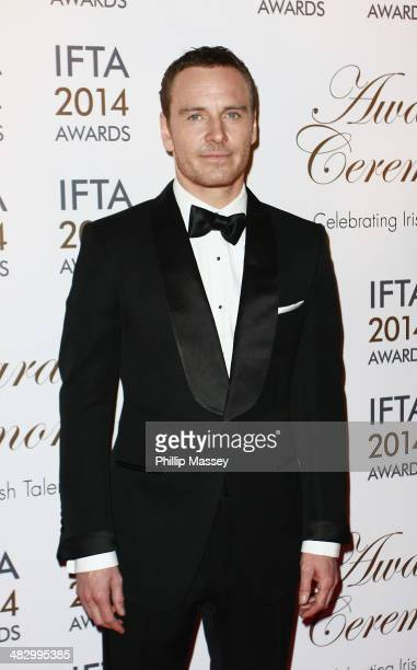 Michael Fassbender attends the Irish Film And Television Awards on April 5 2014 in Dublin Ireland