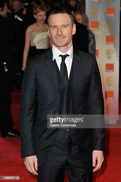 Michael Fassbender attends the Orange British Academy Film Awards 2012 at the Royal Opera House on February 12 2012 in London England