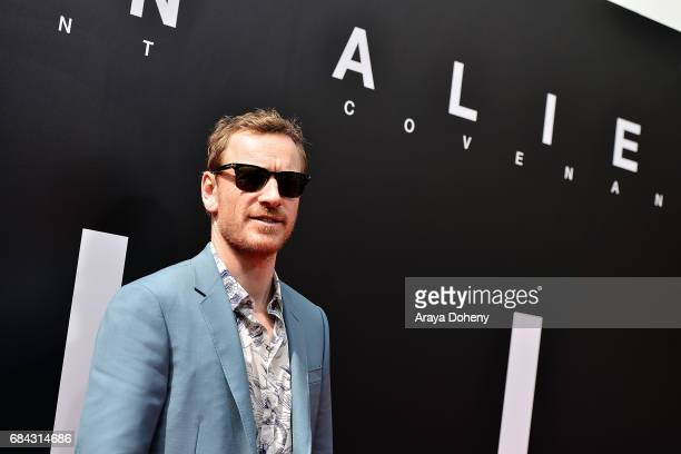 Michael Fassbender attends the Sir Ridley Scott Hand and Footprint Ceremony at TCL Chinese Theatre IMAX on May 17 2017 in Hollywood California