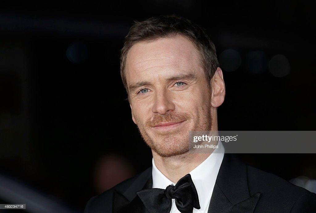 Michael Fassbender attends the 'Steve Jobs' Closing Night Gala during the BFI London Film Festival at Odeon Leicester Square on October 18 2015 in...