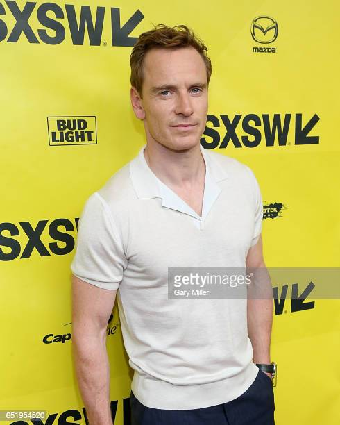 Michael Fassbender attends the world premeire of Terrence Malick's new film Song to Song at the Paramount Theater during the South By Southwest Film...