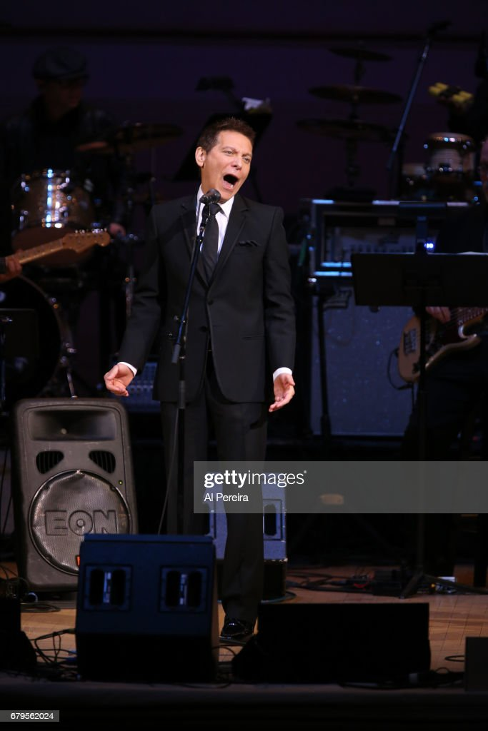 Michael Feinstein performs during 'City Winery Presents A Celebration of the Music of Jimmy Webb' at Carnegie Hall on May 3, 2017 in New York City.