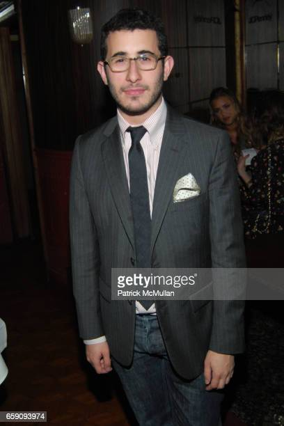 Michael Fenton attends JCPenney and Charlotte Ronson Party at Bar Marmont on April 3 2009 in Hollywood CA