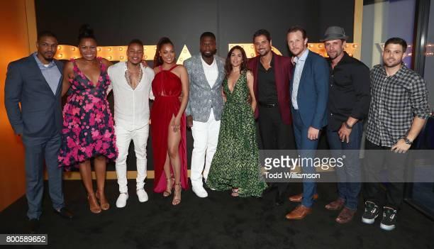 Michael Ferguson showrunner Courtney Kemp actor Rotimi Akinosho actress La La Anthony Curtis '50 Cent' Jackson actress Lela Loren actors JR Ramirez...