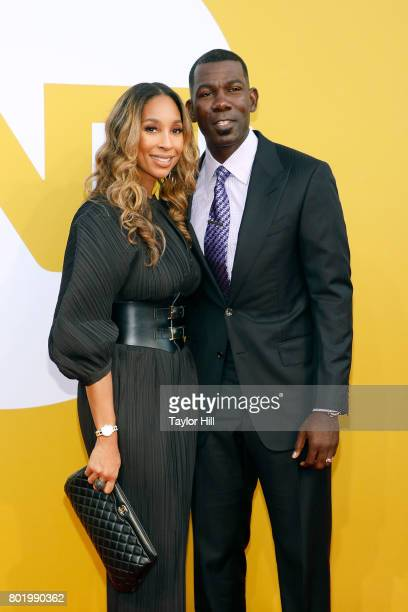 Michael Finley attends the 2017 NBA Awards at Basketball City Pier 36 South Street on June 26 2017 in New York City