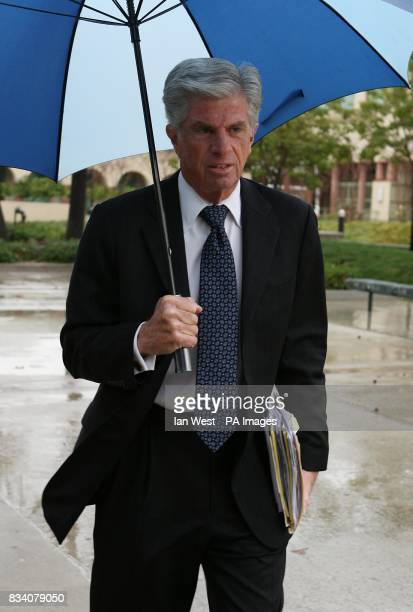 Michael Flanagan attorney for Britney Spears arrives at the Van Nuys Courthouse in Los Angeles