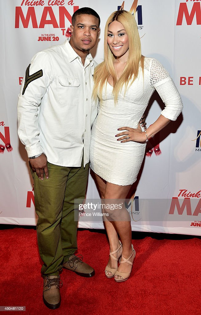 Michael Ford and Keke Wyatt attend the 'Think Like A Man Too' premiere at Regal Cinemas Atlantic Station Stadium 16 on June 11, 2014 in Atlanta, Georgia.
