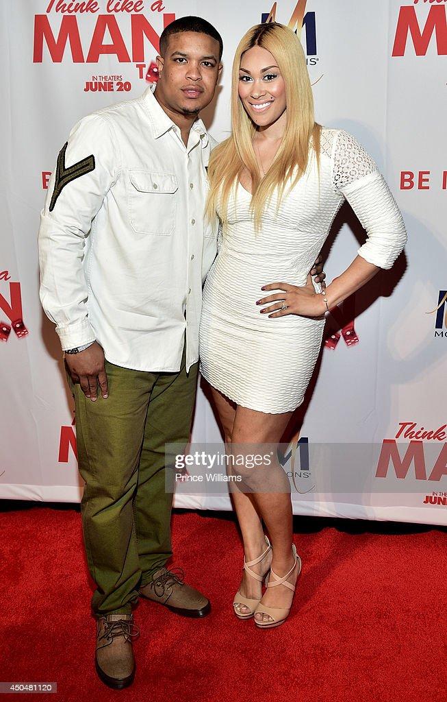 Michael Ford and Keke Wyatt attend the 'Think Like A Man Too' premiere at Regal Cinemas Atlantic Station Stadium 16 on June 11, 2014 in Atlanta, Georgia.