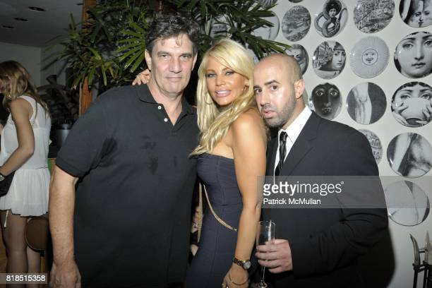 Michael Foulkrod Gabrielle Tuite and Frank Cascio attend Eric Lerner Frank Cascio Celebrate their birthdays with Host Sean Parker and CoHosts Denise...