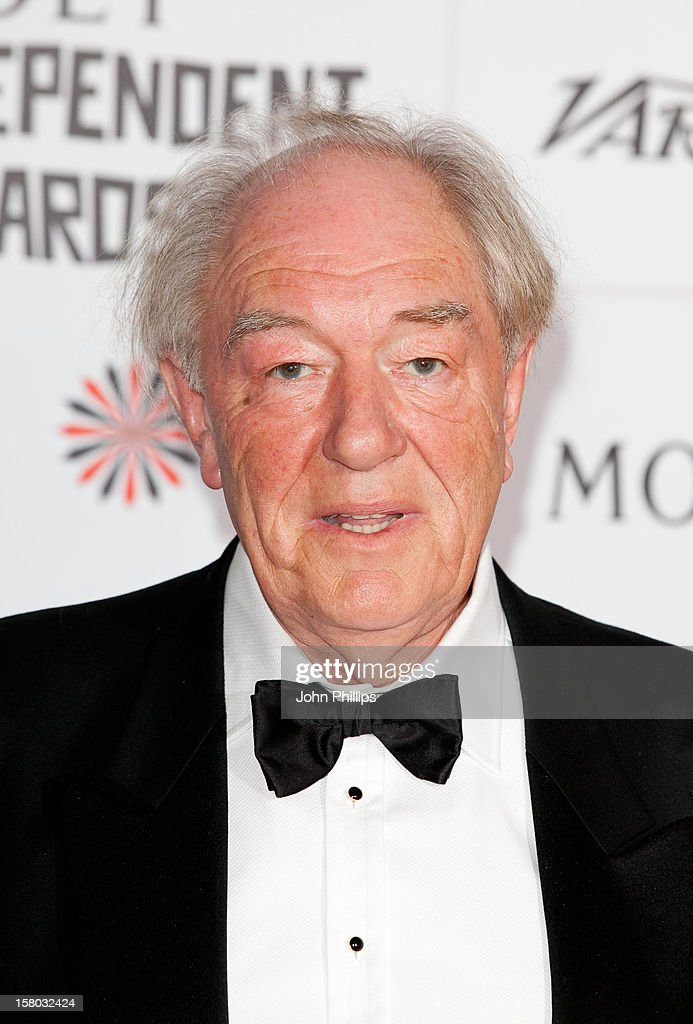 <a gi-track='captionPersonalityLinkClicked' href=/galleries/search?phrase=Michael+Gambon&family=editorial&specificpeople=221730 ng-click='$event.stopPropagation()'>Michael Gambon</a> attends the British Independent Film Awards at Old Billingsgate Market on December 9, 2012 in London, England.