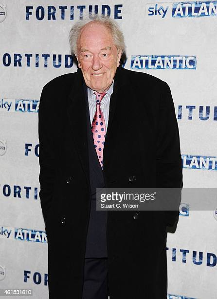 Michael Gambon attends the UK Premiere of Sky Atlantic's 'Fortitude' on January 14 2015 in London England
