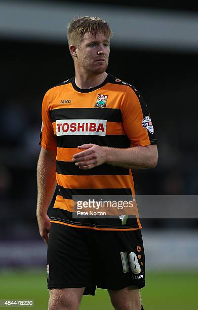 Michael Gash of Barnet in action during the Sky Bet League Two match between Barnet and Northampton Town at The Hive on August 18 2015 in Barnet...