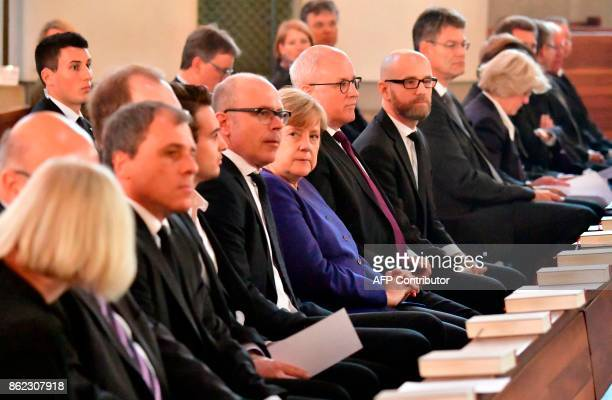 Michael Geissler Dominik Geissler German chancellor Angela Merkel parliamentary group leader of CDU/CSU faction Volker Kauder and CDU's Secretary...