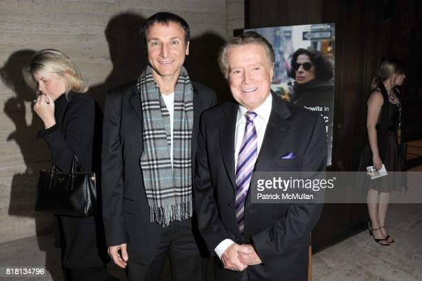 Michael Gelman and Regis Philbin attend The HBO Documentary Films Premiere of PUBLIC SPEAKING After Party at Four Seasons Restaurant on November 15...