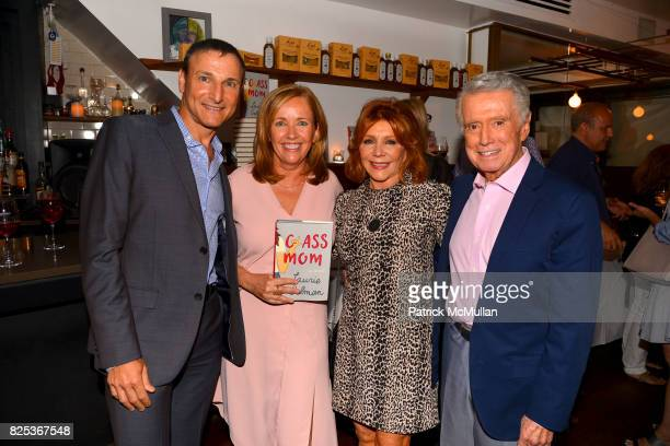 Michael Gelman Laurie Gelman Joy Philbin and Regis Philbin attend Michael Gelman Celebrates The Launch Of CLASS MOM A Novel By Laurie Gelman at Loi...
