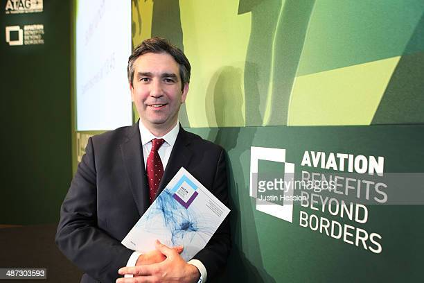 Michael Gill Executive Director of the Air Transport Action Group launches a new report on the benefits of aviation at the group's Global Sustainable...