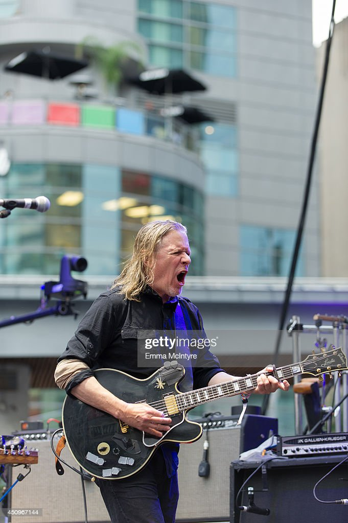 Michael Gira of Swans performs at the 2014 NXNE music festival at Yonge-Dundas Square on June 20, 2014 in Toronto, Canada.