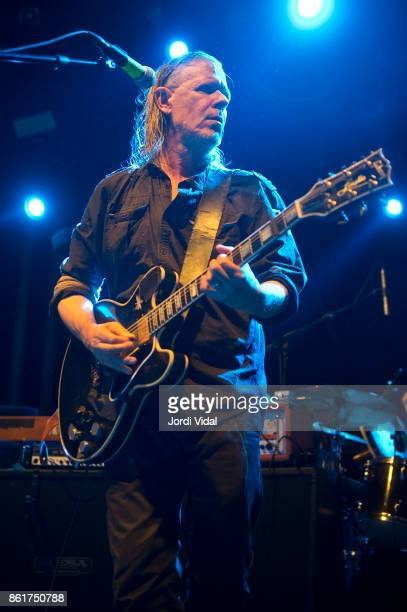 Michael Gira of Swans performs on stage at Sala Apolo on October 15 2017 in Barcelona Spain