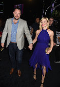 Michael Gladis and actress Beth Behrs attend The 41st Annual People's Choice Awards at Nokia Theatre LA Live on January 7 2015 in Los Angeles...