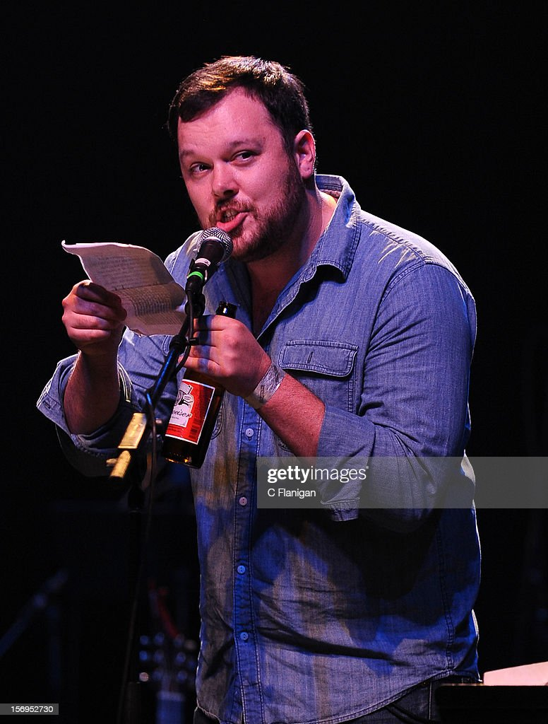 Michael Gladis of the Tv Show Mad Men performs at The Last Waltz Tribute Concert at The Warfield Theater on November 24, 2012 in San Francisco, California.