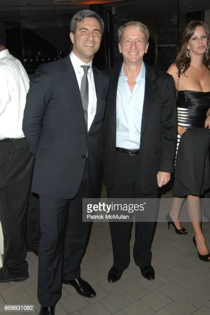 Michael Govan and David Bohnett attend A Single Man Screening at LACMA at Los Angeles County Museum of Art on December 3 2009 in Los Angeles...