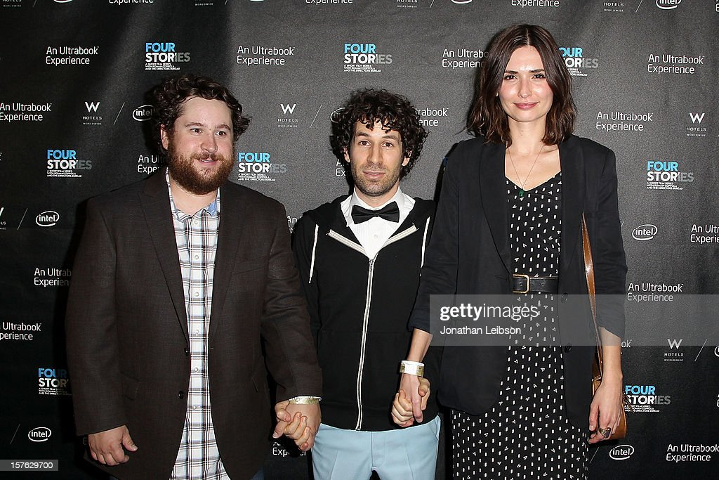 Michael Govier, Spencer Susser and Karolina Wydra attend the 'Four Stories' - Los Angeles Premiere at W Los Angeles-Westwood on December 4, 2012 in Los Angeles, California.