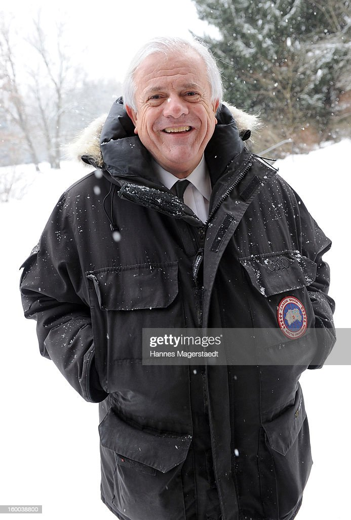 Michael Graeter attends the memorial service for Steffen Kuchenreuther at the Waldfriedhof on January 25, 2013 in Munich, Germany.