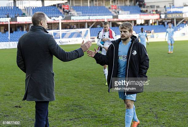 Michael Gravgaard the Director of Randers FC after the Danish Alka Superliga match between Randers FC and Viborg FF at Bionutria Park on March 20...