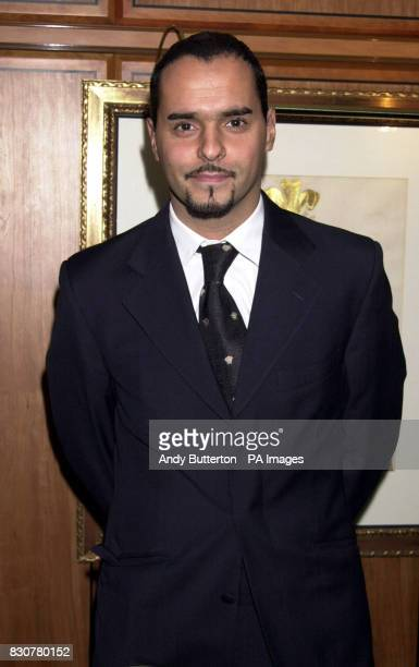 Michael Greco during the SPARKS 2001 Winter Ball at the Park Lane Hilton in London 12/02/02 Michael Greco who plays Beppe di Marco in the BBC 1 soap...