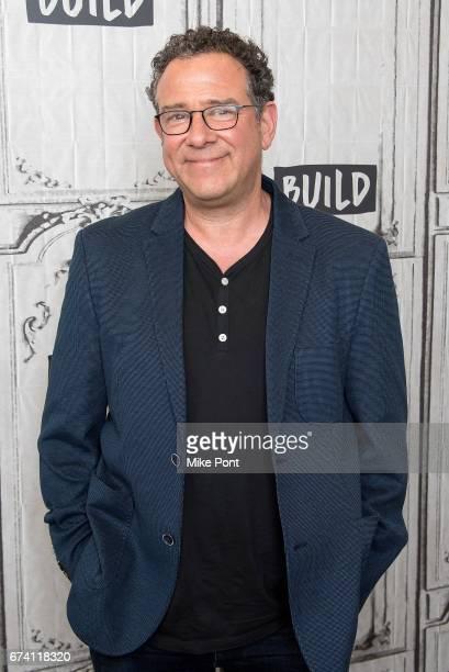 Michael Greif visits Build Studios to discuss 'Dear Evan Hansen' at Build Studio on April 27 2017 in New York City