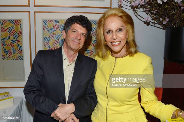 Michael Gross and Susan Silver attend Susan Silver's Memoir Signing Celebration at Michael's on April 20 2017 in New York City