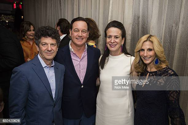 Michael Gross Betsy Turner Wally Turner and Randi Schatz attend AVENUE Celebrates Kara Ross and the Palm Beach A List at Meat Market Palm Beach on...