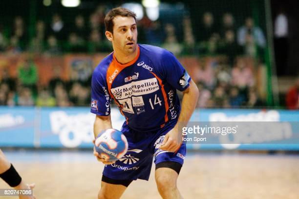 Michael GUIGOU Montpellier / Saint Raphael Finale de la Coupe de la Ligue 2009/2010 Palais des sports de Beaulieu Nantes