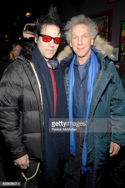 Michael H and Bob Gruen attend Hilfiger Denim Marky Ramone Paper Magazine Invite you to Celebrate The Launch of MARKY RAMONE'S ROCK SCENE COLLECTION...