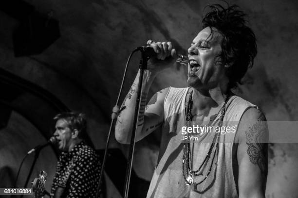 Michael H performs at the after party for 'Shot The PsychoSpiritual Mantra of Rock' at The Roxy Hotel on May 16 2017 in New York City