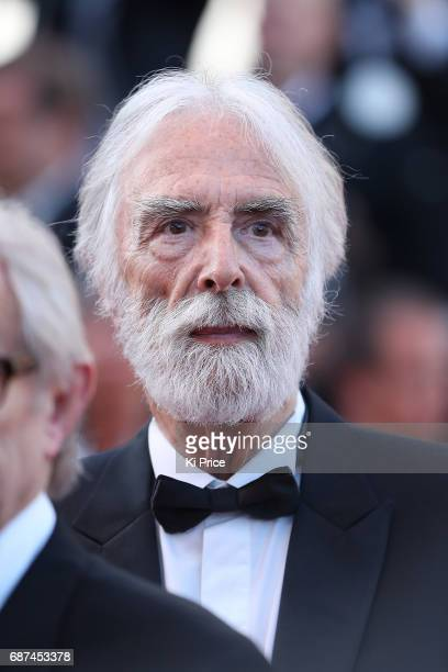 Michael Haneke attends the 70th Anniversary of the 70th annual Cannes Film Festival at Palais des Festivals on May 23 2017 in Cannes France