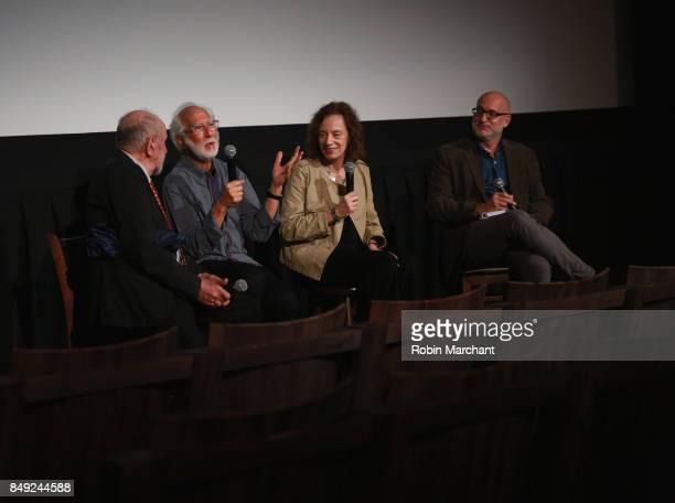 Michael Hausman Stuart Wurtzel Hilary Rosenfeld and Joe Neumaier attend The Academy of Motion Picture Arts Sciences Metrograph Host THE BALLAD OF...