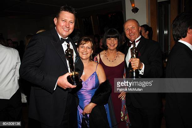 Michael Hedges and Hammond Peek attends Vanity Fair Oscar Party at Morton's Restaurant on March 5 2006