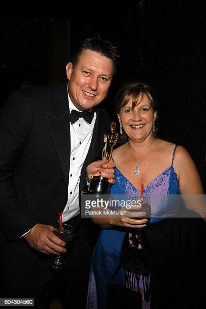Michael Hedges and Joanne Hedges attend Vanity Fair Oscar Party at Morton's Restaurant on March 5 2006