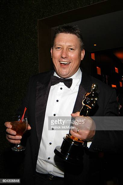 Michael Hedges attends Vanity Fair Oscar Party at Morton's Restaurant on March 5 2006