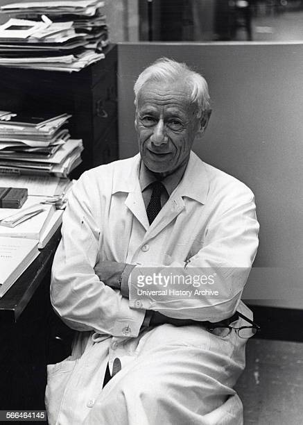 Michael Heidelberger in his New York University School of Medicine office 1968 Michael Heidelberger American immunologist who is regarded as the...